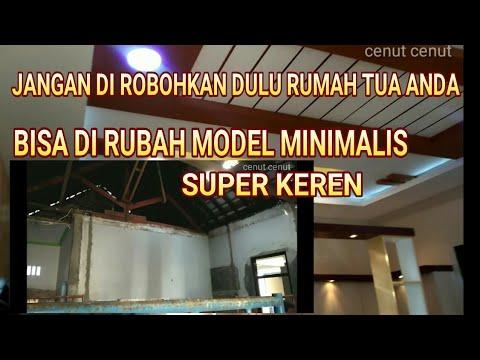 Amazing Renovasi Rumah Lama Tua Menjadi Model Minimalis Lihatlah Hasil Akhirnya Youtube