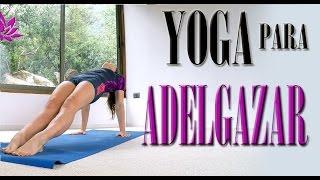 Yoga para adelgazar   INTERMEDIO 30 min Clase 10