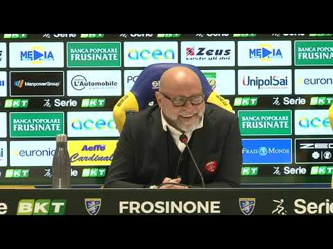 16/02/2020 CONFERENZA STAMPA POST FROSINONE PERUGIA DI MISTER SERSE COSMI