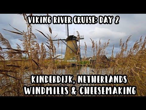 Viking River Cruise: Day 2 In Kinderdijk!