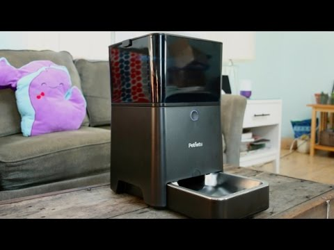 Never Get Up To Feed Your Pet Again with the Petnet Smartfeeder