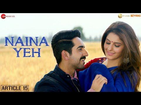 Naina Yeh  Mp3 Song status song download  Ayushmann Khurrana
