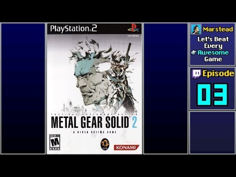✔️ Metal Gear Solid 2: Sons of Liberty (Episode 3/3)