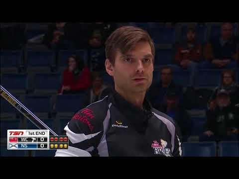 McEwen (WC) vs. Murphy (NS) - 2018 Tim Hortons Brier - Draw 6