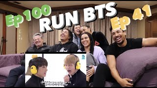 MY FAMILY REACTS TO RUN BTS (Ep 100  41)