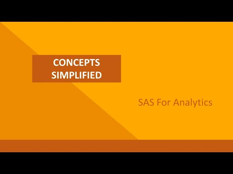 Technical Course: Foundation Course: Introduction to SAS