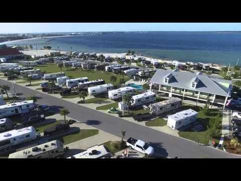 A quick aerial tour of our Pensacola Beach RV Resort!