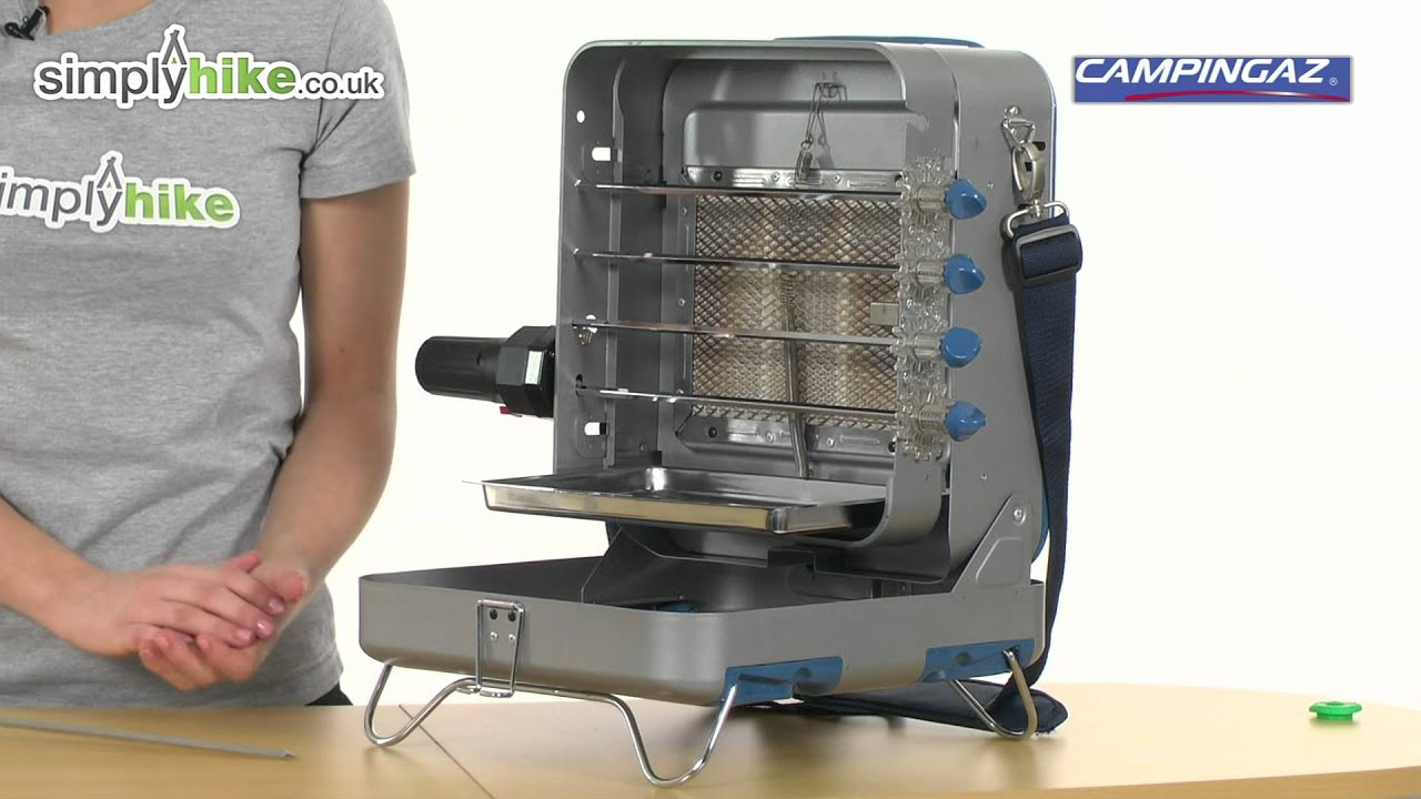 campingaz rotario kleinster mobiler gasgrill. Black Bedroom Furniture Sets. Home Design Ideas