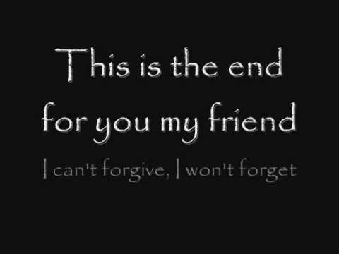 Anti-Flag This Is The End (For You My Friend) (Lyrics)