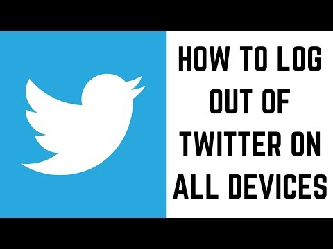 How to Log Out of Twitter On All Devices