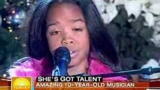 Gabi Wilson age 10 (H.E.R.) Today Show Alicia Keys