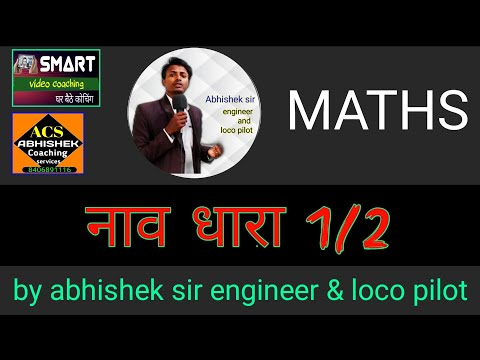 LOCO PILOT MATH DEMO CLASS boat and streem by abhishek sir