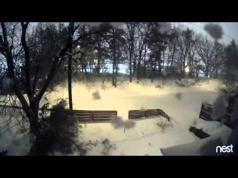 Snowstorm in Washington, DC