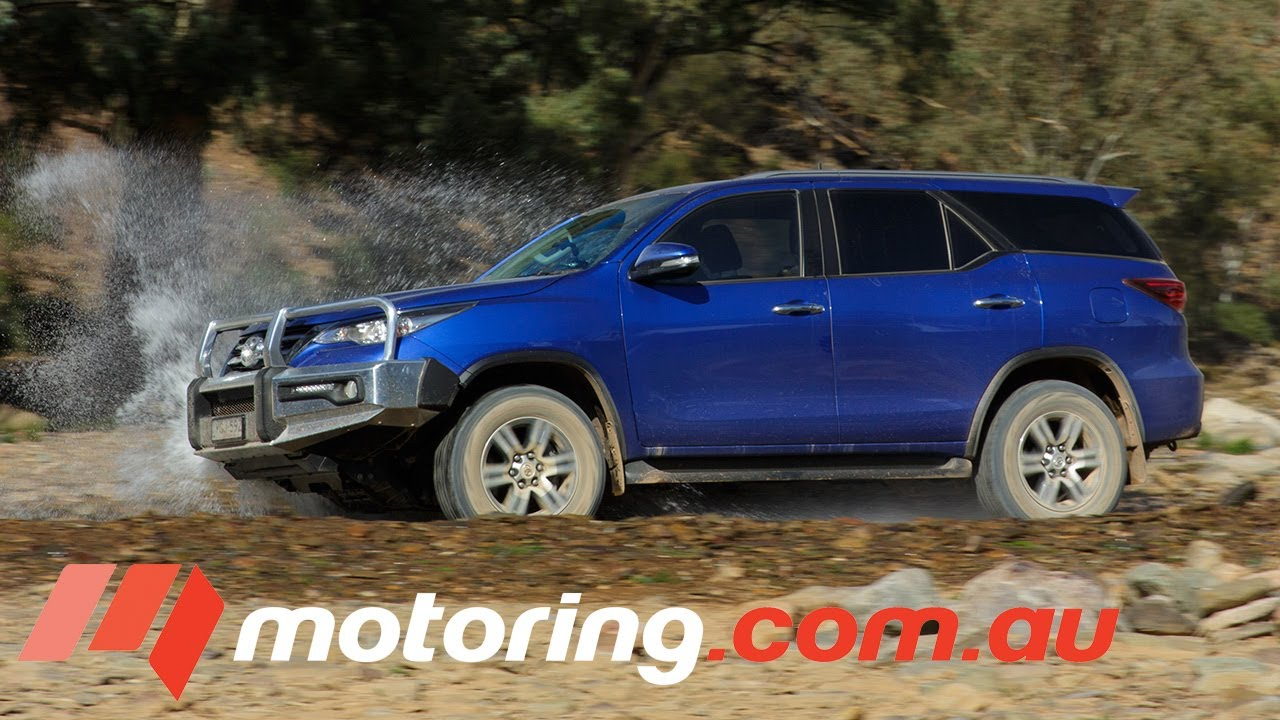 Toyota Large Suv >> 2017 Large 4wd Suv Comparison Toyota Fortuner Motoring Com Au
