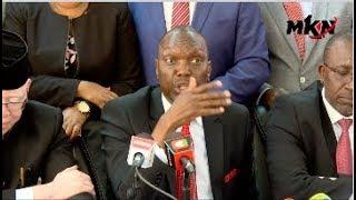 جبل كينيا قادة نذر أن رفض BBI إذا كان يخلق لمنصب رئيس الوزراء!