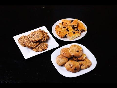 Печенье из геркулеса и банана без муки и сахара - рецепт с