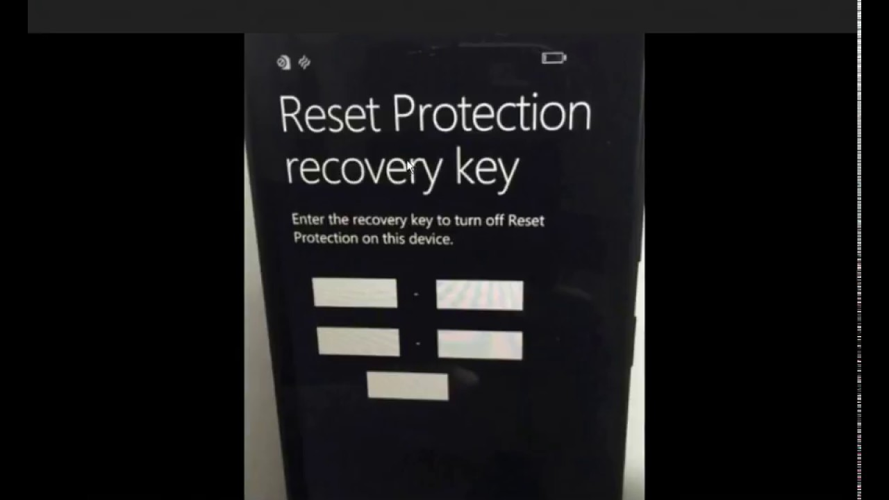 Lumia 640 Reset Protection Key Bypass