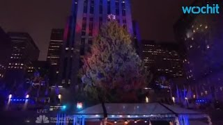 watch the 2016 rockefeller christmas tree lighting