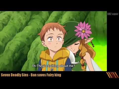 Ban saves King of Fairies - Nanatsu no Taizai (subbed)