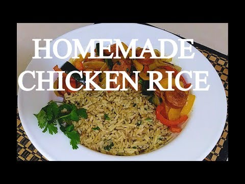 easy-homemade-chicken-flavored-rice-recipe