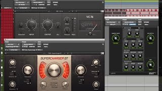 Adding Character to Kick and Snare Drums Using 3 Favorite Parallel Compressors