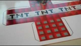 Repeat youtube video Minecraft Papercraft Printed on Photo Paper