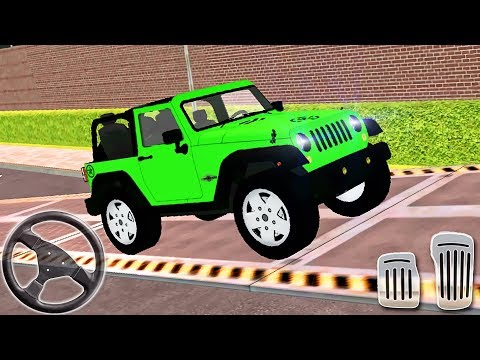 My Holiday Car Red Sport Car Green Jeep Driving Android Gameplay 2 Youtube