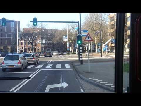 RET buslijn 44 Trajectvideo Rotterdam Zuidplein - Centraal Station (2014)