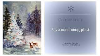 COLINDE VECHI - Sus la munte ninge, ploua - Radu Cimpoi