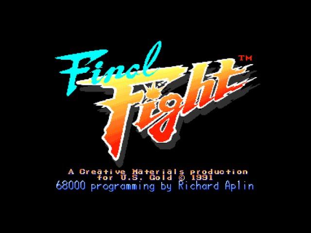 Amiga 500 Longplay [011] Final Fight