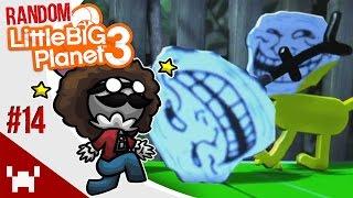 Troll Survival Levels! - Little Big Planet 3: Random Multiplayer - Ep. 14