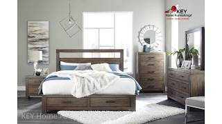 Ashley Deylin (B537) Collection Bedroom Furniture | KEY Home