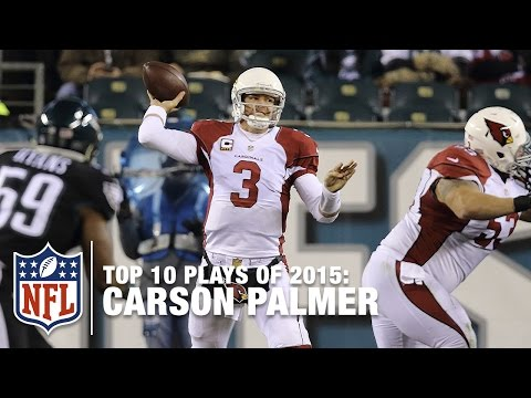 Top 10 Carson Palmer Plays of 2015 | NFL