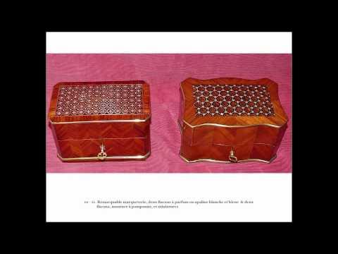 Coffret parfums porte montre bo te th timbres for Coffret de couture