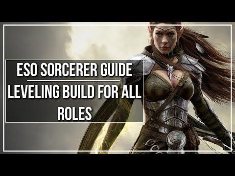 ESO Sorcerer Leveling Build (All Roles)