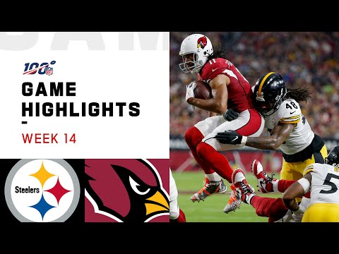 Steelers vs. Cardinals Week 14 Highlights | NFL 2019