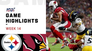 Download Steelers vs. Cardinals Week 14 Highlights | NFL 2019 Mp3 and Videos