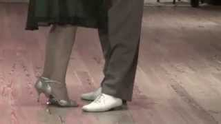 """Osvaldo y Coca Cartery  Tango  """"Una Vez""""  En: Club Gricel  (Martes 07-01-14)"""