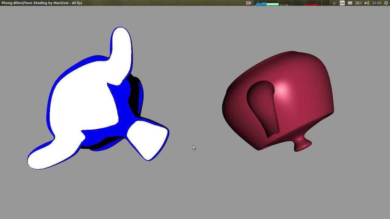 OpenGL - toon- and blinn/phong lighting models & OpenGL - toon- and blinn/phong lighting models - YouTube azcodes.com