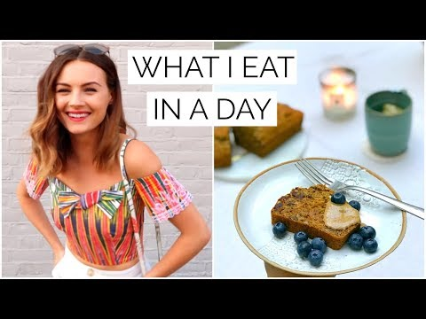 26 WHAT I EAT IN A DAY  Niomi Smart