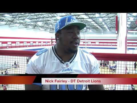 Ashley Raymond: Detroit Lions Nick Fairley Making Changes