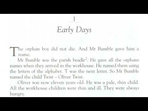 Oliver Twist - 1.1  Early Days.