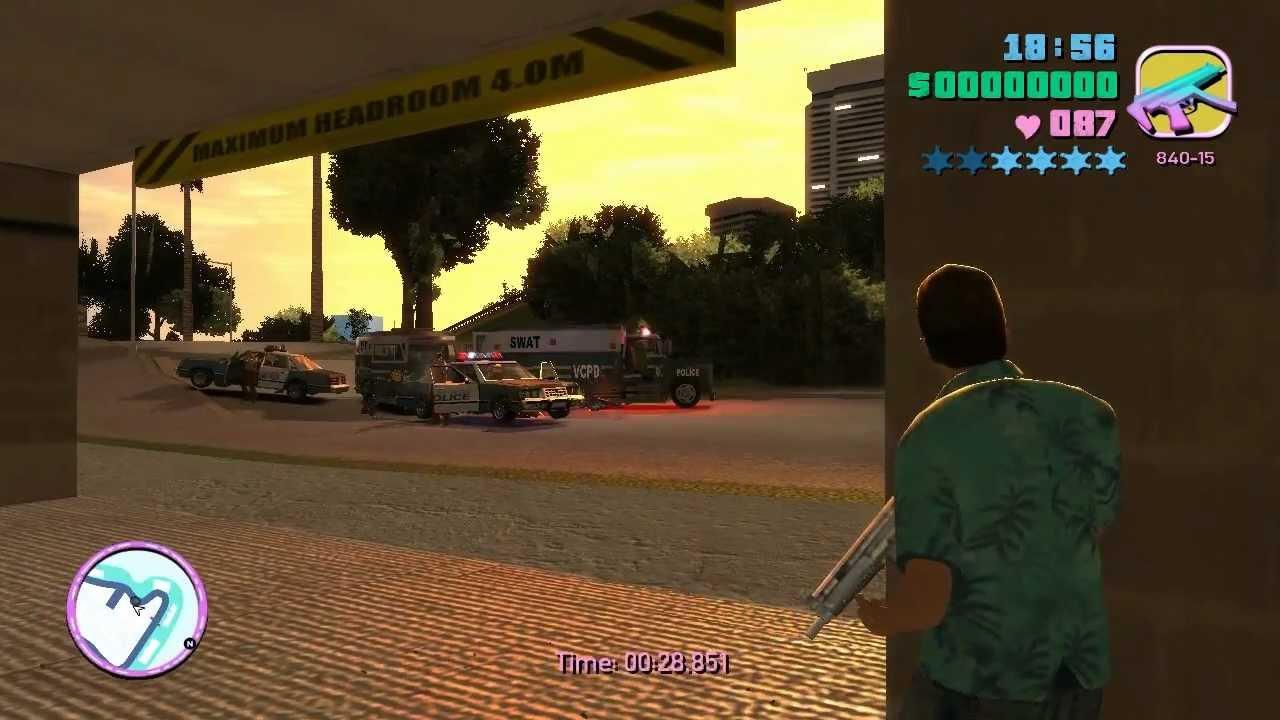 Vice City Rage Beta 1 1: Base Defending (side-mission)
