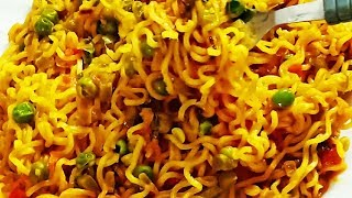 Maggi Masala Recipe | Indian Street Style Maggi Masala Recipe | Kids Lunchbox Recipe