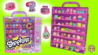 Shopkins Purple Glitzi Case with 8 Season 5 Exclusive Fits Happy Places & 12 Pack