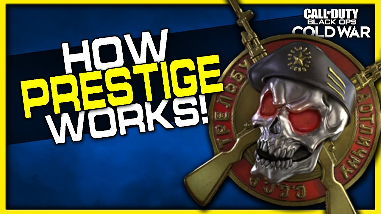 How Prestige will Work in Black Ops Cold War & Warzone!