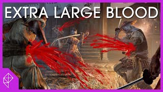 Sekiro and a brief history of spraying blood all over the darn place