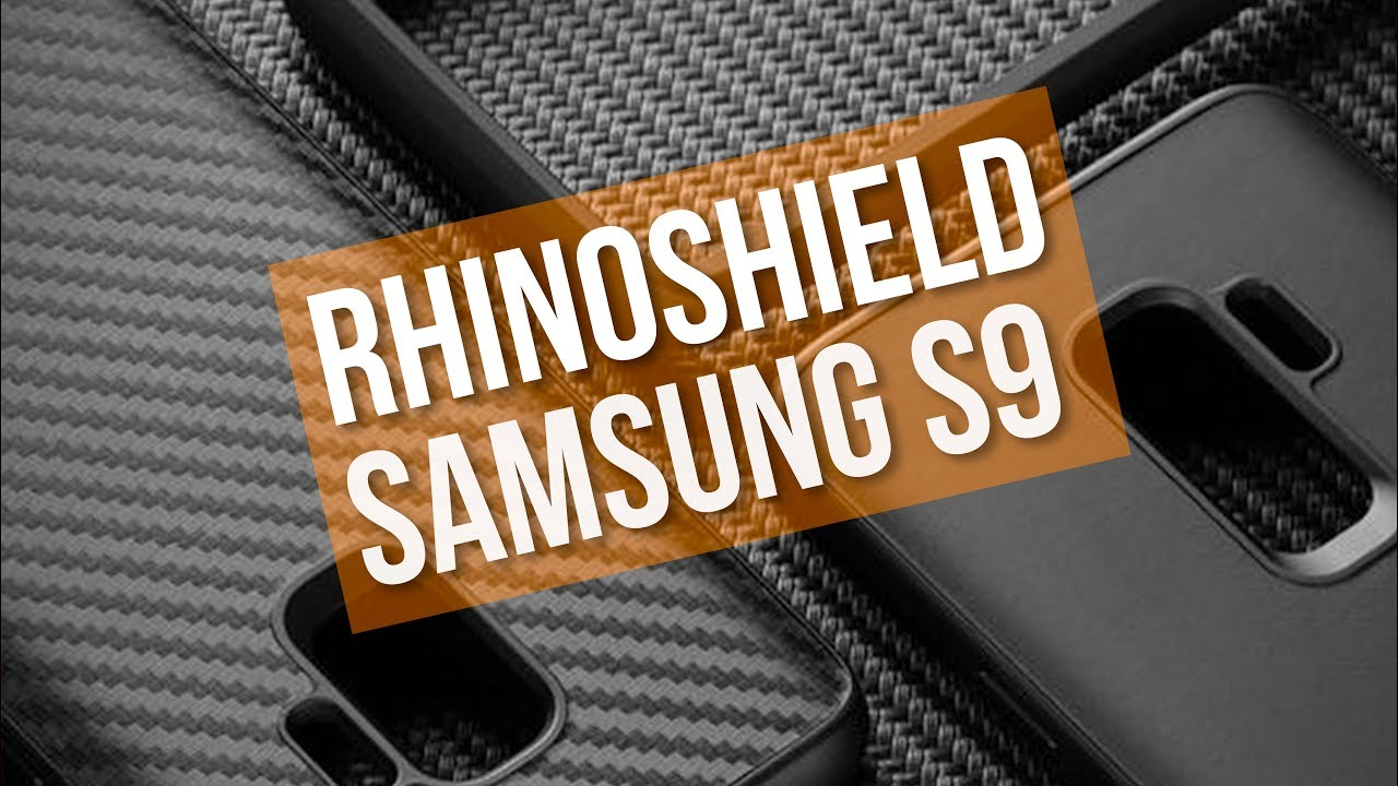 on sale 7c5f6 7d7a7 TOUGHEST Bumper for the Samsung S9?! - RhinoShield Samsung S9/S9+ Cases -  First Look