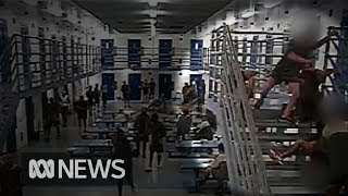 Prison CCTV shows ferocity of attacks as Qld prison violence reaches a new high