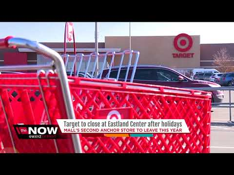 Target to close at Eastland Center